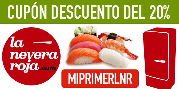 20 de descuento en tu primer pedido en la nevera roja for La nevera roja zaragoza