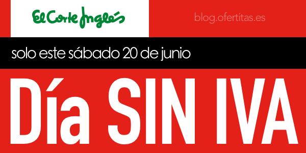 Día Sin IVA El Corte Inglés Junio 2015