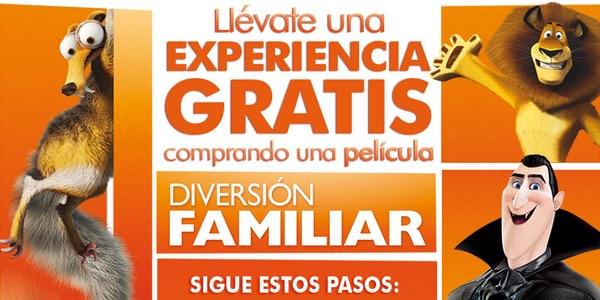 Experiencia GRATIS Fox Diversión Familiar