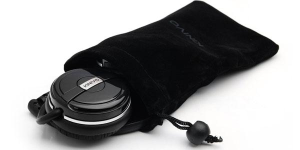Funda para guardar los auriculares