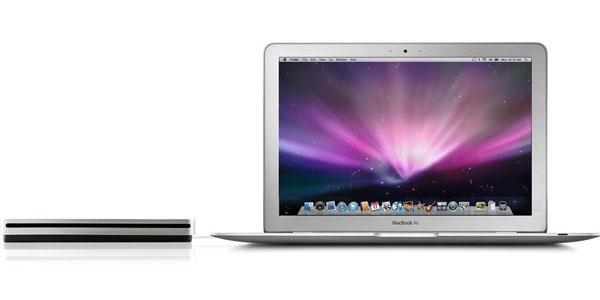 Grabadora DVD externa estilo Apple