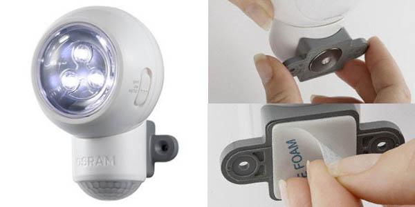 Oferta led osram spylux con sensor de movimiento - Luz sensor movimiento ...
