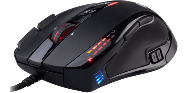 Ratón para juegos Genesis gx78