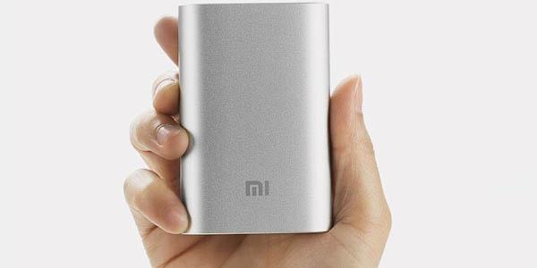 Batería Xiaomi Power Bank 10000 pequeña