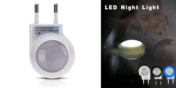 LED nocturno bajo consumo