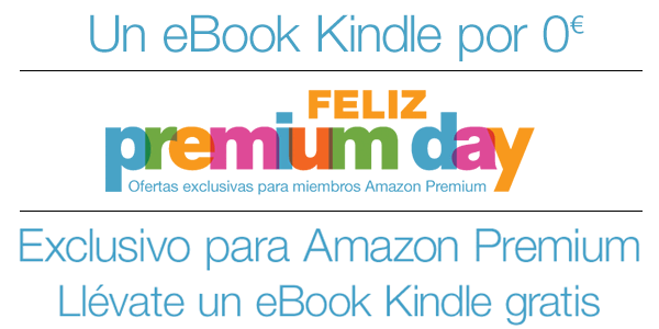 eBook Kindle Gratis con Amazon Premium