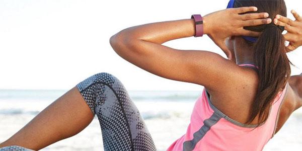 fitbit charge hr pulsera actividad ritmo cardiaco