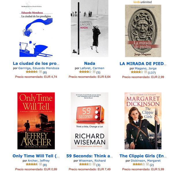 libros Kindle gratis
