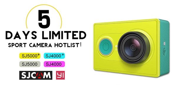Oferta limitada en cámaras deportivas baratas