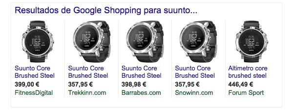 mejores precios Suunto Core