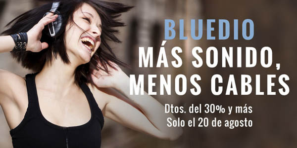 Auriculares bluetooth baratos de Bluedio