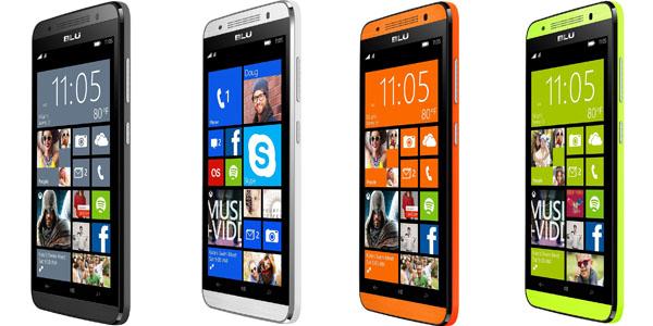 blu x150e smartphone 5 4G lte doble-sim qualcomm-snapdragon-410 1.2ghz quad-core 1gb 8mp colores