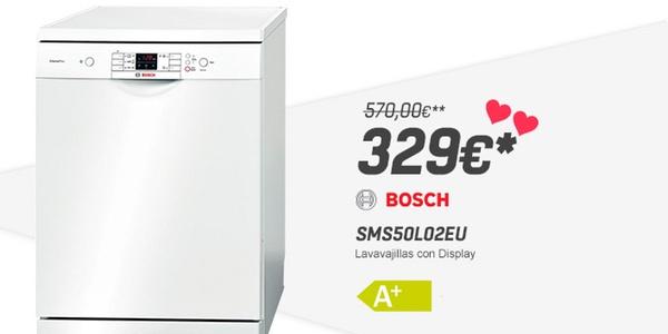 Oferta lavavajillas bosch sms50l02eu 226 de descuento - Ofertas lavavajillas alcampo ...