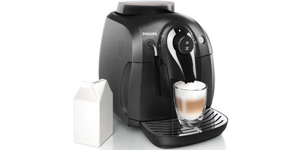cafetera espresso super automatica philips hd8651 leche