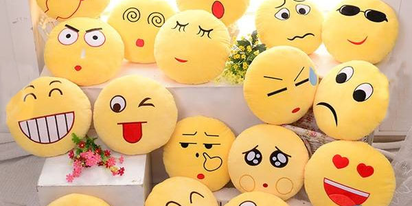 cojines emoji expression variedad