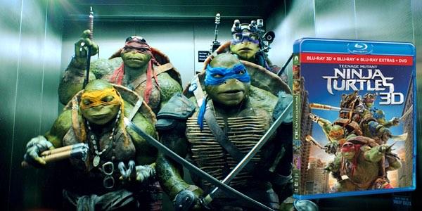 Ninja Turtles Blu-ray 3D barato