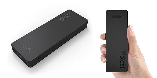 Batería externa Aukey de 12000 mAh barata