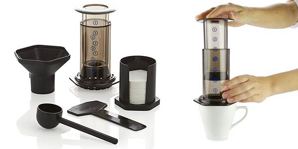 cafetera de mbolo aerobie aeropress por s lo 27 66. Black Bedroom Furniture Sets. Home Design Ideas