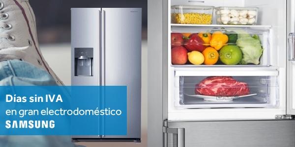 Día Sin IVA electrodomésticos Samsung