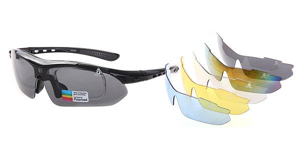 5d42e3fcd1 Chollo gafas de sol deportivas polarizadas UV400