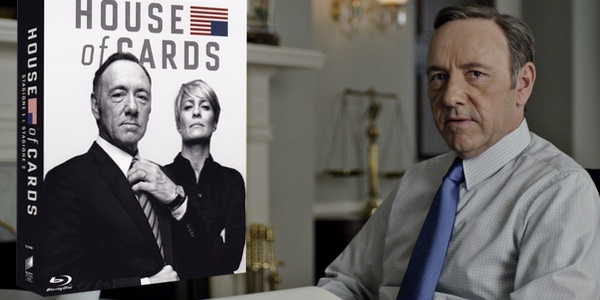 Pack House of Cards Blu-ray barato