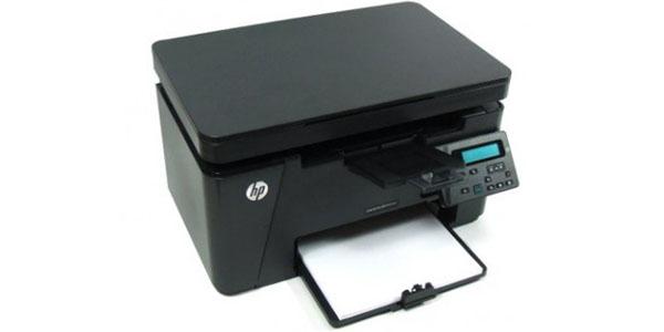 impresora multifuncion blanco negro hp laserJet pro mfp-m125nw bandeja