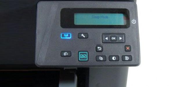 impresora multifuncion blanco negro hp laserJet pro mfp-m125nw lcd