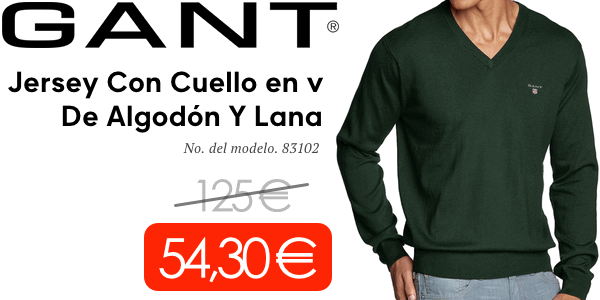 jerseys GANT originales baratos