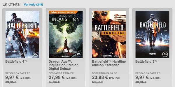 juegos de Origin baratos