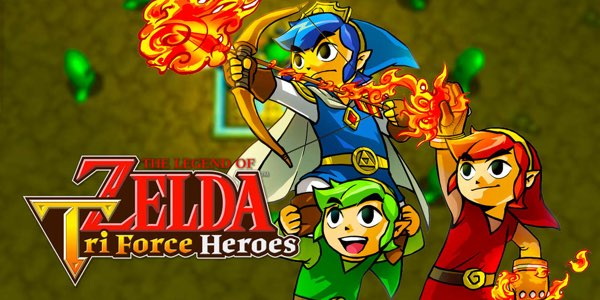 The Legend of Zelda Tri Force Heroes barato