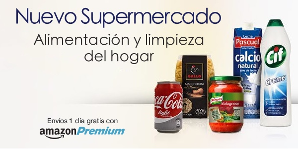 SUPERMERCADO AMAZON ESPAÑA