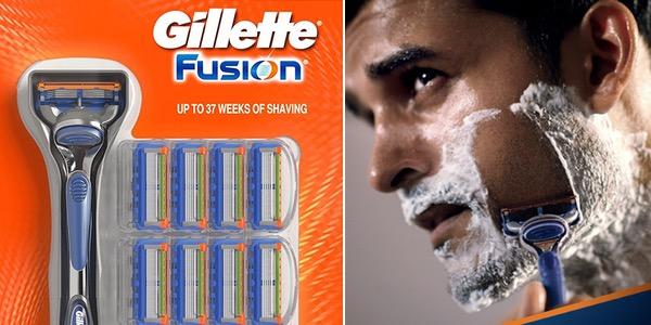 Pack cuchillas Gillette Fusion baratas
