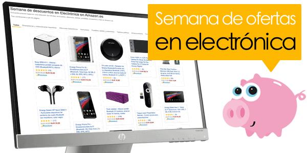 Semana de ofertas en electrónica Amazon Septiembre 2015