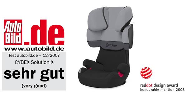 cybex solution x silla de coche grupo 2 3 por s lo 123 57. Black Bedroom Furniture Sets. Home Design Ideas