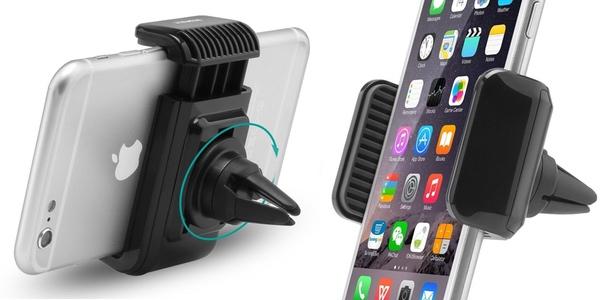 Soporte para smartphone Aukey Air de pinza para coche