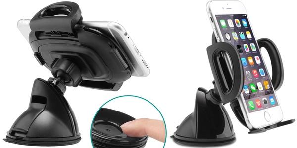 Soporte de smartphone para coche de ventosa