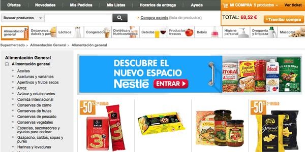 Supermercado El Corte Inglés Online