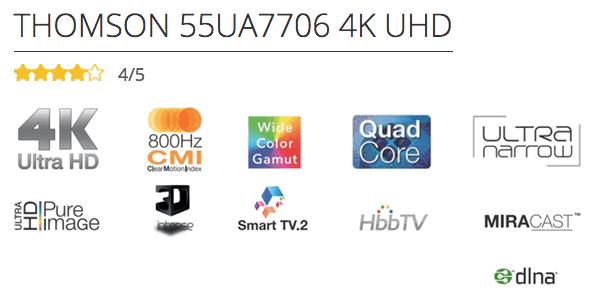 el televisor 4K más barato del mercado