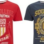 2 camisetas por 14€ en Zavvi