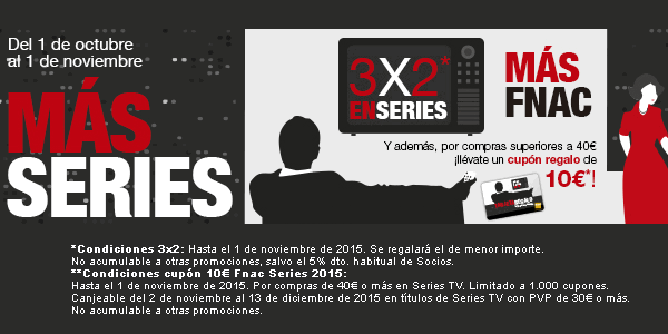3x2 en series DVD Blu-ray Fnac