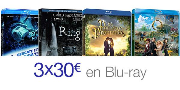 3x30€ Blu-Ray Amazon