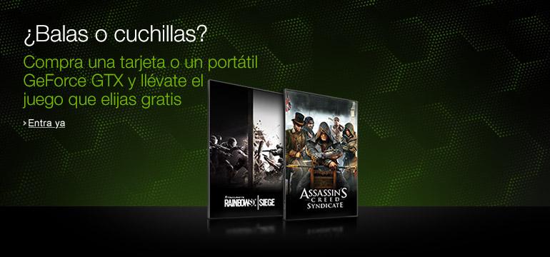 Promoción juego gratis Nvidia