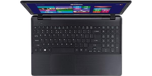 acer aspire e5 573 327z intel core i3 4005u 4gb 500gb 15.6 portatil teclado