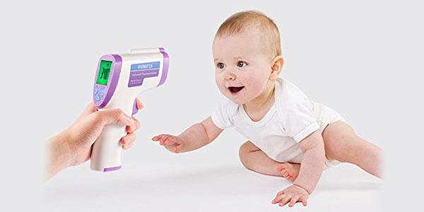 avantek termometro digital infrarrojo bebe