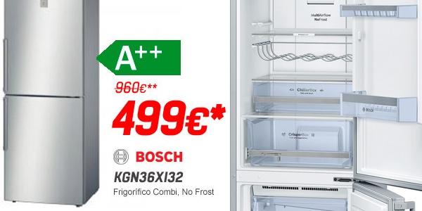 frigor fico bosch kgn36xi32 a con 461 de descuento. Black Bedroom Furniture Sets. Home Design Ideas