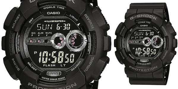 7f537332023b Reloj Casio G-SHOCK GD-100-1BER al 34% de descuento