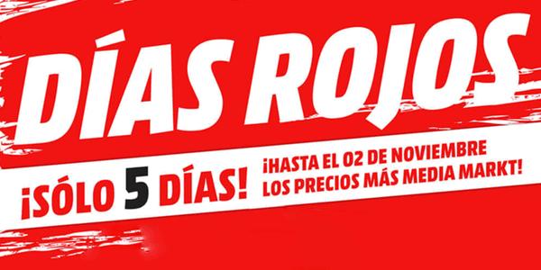 Catálogo Media Markt Días Rojos