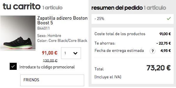 eb4ab7b762c1c Brutal 25% de descuento en Adidas Online sólo hoy 8 de octubre