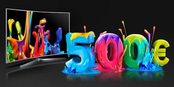 Televisores Samsung 4K al mejor precio