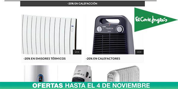 20 de descuento en calefacci n y climatizaci n en el - Consumo emisores termicos ...
